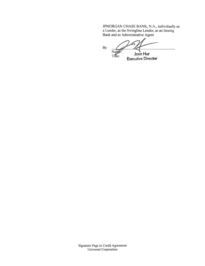 Document Chase Manhattan Bank Wiring Instructions Agfirst Farm Credit Individually As A Lender An Issuing And Co Syndication Agent By Nam Title Signature Page To Agreement